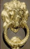 Lion Door Knockers