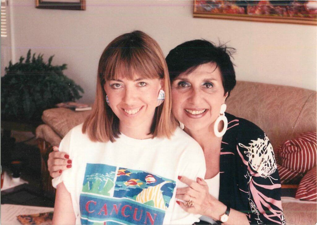 Barbara and Mom