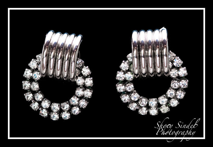 Deco Rhinestone Door Knockers
