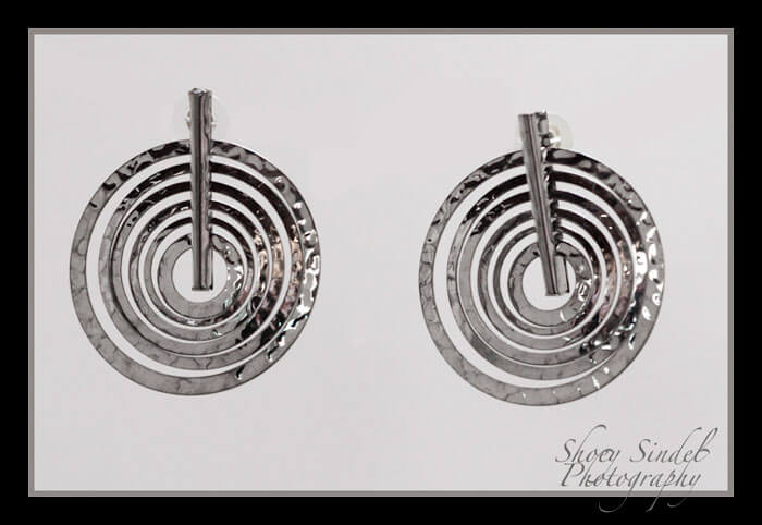 Op Art Earrings